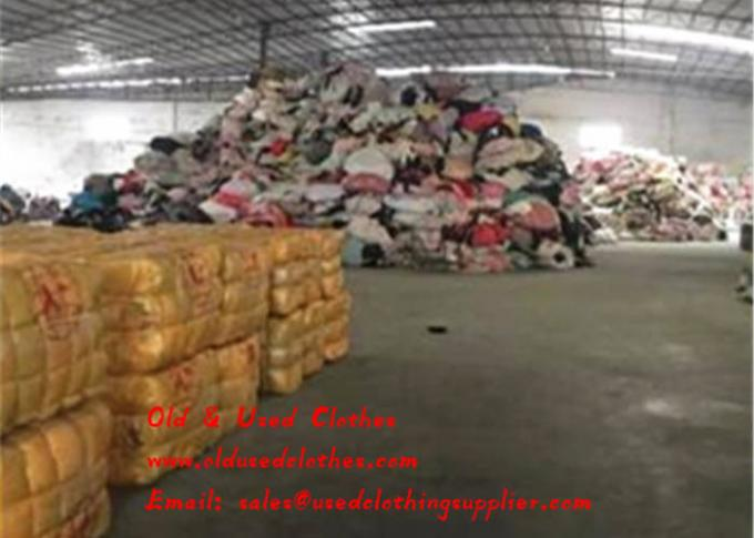 Old & Used Clothes Supplier